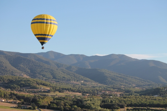Hot Air Balloon in Carcadeu, Barcelona